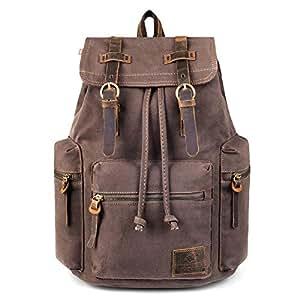 748eb8cc2b Amazon.com  Canvas Backpack
