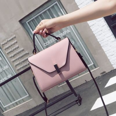 fashion women bag lock flap simple leisure messenger packet female shopping handbags shoulder crossbody bags
