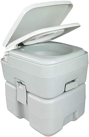 YAP Acampar WC 20L Escalera portátil baños móviles WC químico con Orinal Loo para Coche Tienda de Camping al Aire Libre casero Autocaravana, fácil de Limpiar: Amazon.es: Hogar