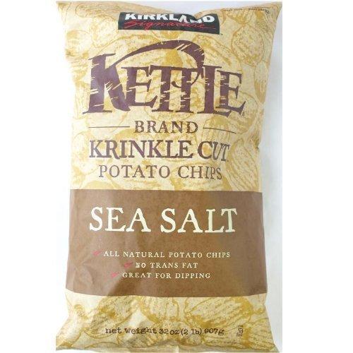 Kirklandcalk 랜드 시그네쳐 주전자(케틀.kettle) 팁(칩)《스》(포테이토 팁(칩)《스》)907g
