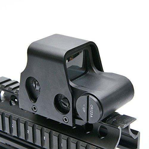 Mini Holographic Reflex Sight Red Dot Rifle Scope Tactical Light Adjustable Brightness Gun sights 553 model