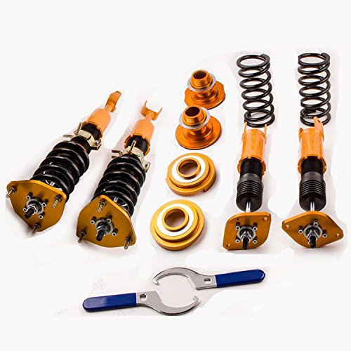 - GOWE Coilover for Nissan 350Z Z33 Fairlady Z Infiniti G35 Coupe Roadster Lowering Kit 2003-2015 Coupe Convertible Coilover Racing