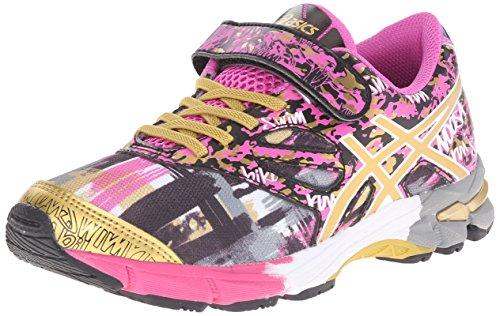 Price comparison product image ASICS Gel Noosa Tri 10 PS GR Triathlon Shoe (Toddler/Little Kid), Pink Glow/Gold/Gold Ribbon, 3 M US Little Kid