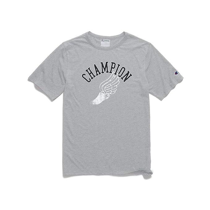 Champion - Camiseta deportiva - Manga corta - para hombre: Amazon.es: Ropa y accesorios