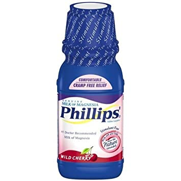 Phillips Milk of Magnesia 26 oz. Wild Cherry (Pack of 6)