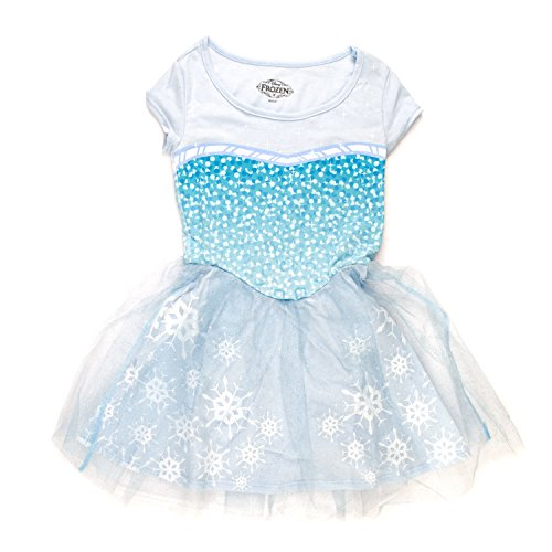 Elsa Tween Costumes (Big Girls' Frozen I Am Elsa Dress Size 6)