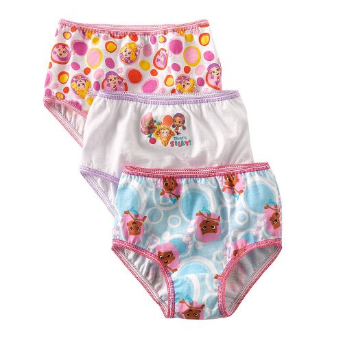 bubble guppies toddler girls 2t 3t 4t underwear panties