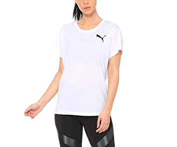 2d980d4dab Camiseta Puma Active ESS Mesh Heather Branca  Amazon.com.br ...