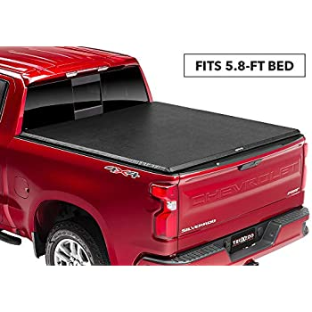 Fleetside 5 8 Bed Tyger Auto T3 Tri Fold Truck Tonneau Cover Tg Bc3c1053 For 2019 Chevy Silverado Gmc Sierra 1500 New Body Style Incl Denali For Models Without Utility Track System Exterior Accessories Tonneau