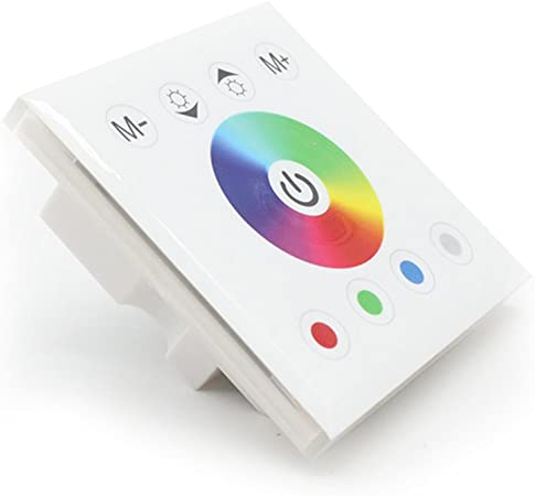 Mi light Smart Led Panel Controller RGB RGBW RGB+CCT// Dimming Panel Touch Switch