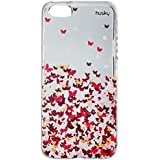 Capa Personalizada para iPhone SE/ 5/ 5S - Borboletas Flutuantes - Husky, Husky, Capa Protetora Flexível, Colorido