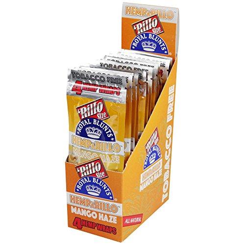 llo Mango Haze 15 pack of 4 (Royal Blunts Wraps)