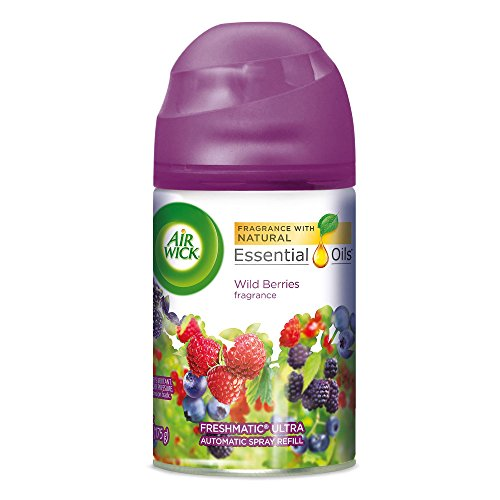 Dispenser Mist Automatic (AIR WICK Freshmatic Refill Automatic Spray, Wild Berries)