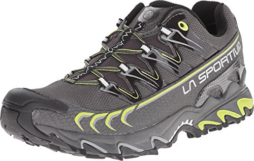 La Sportiva Men's Ultra Raptor GTX Trail Running Shoe, Grey/Green, 44.5 M EU