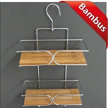 Bambus Badregal 2 Ablagen 40 Cm Badablage Duschregal Duschablage