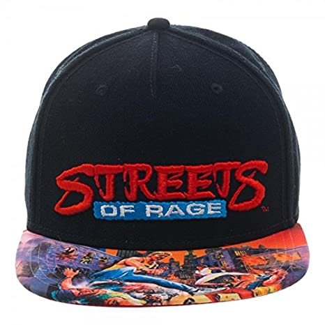 dfa5a5ac1 Sega Genesis Streets of Rage Sublimated Bill Snapback
