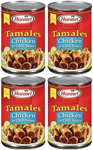 Canned Meat & Seafood: Hormel Tamales