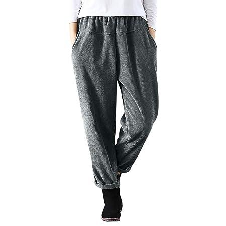Mounter - Pantalones de Pana elásticos para Mujer (Tallas ...