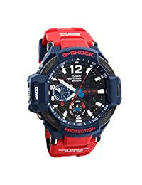 Casio Men's G-Shock GA1100-2A Red Resin Quartz Watch