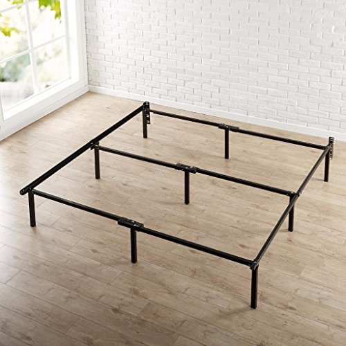 zinus 12 inch compack bed frame for box spring mattress sets extra high bed risers not. Black Bedroom Furniture Sets. Home Design Ideas