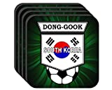 Lee Dong-Gook (South Korea) Soccer Set of 4 Coasters