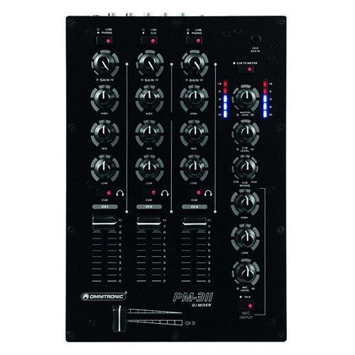 Omnitronic 10006876 PM-311 DJ-Mixer