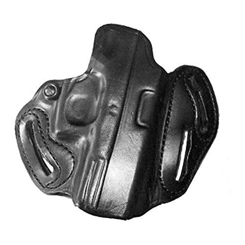 DeSantis Speed Scabbard Holster fits 4-Inch Colt Python, Trooper, Right Hand, Black