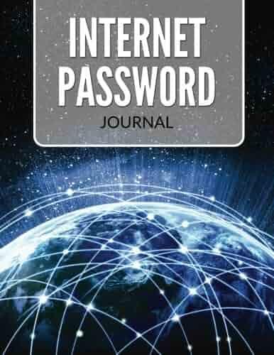 Internet Password Journal