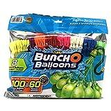 Zuru Buncho Balloons | Self Sealing Water Balloons | Multicolor | 8 Bunches |