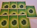 20 Basic Grass Energy Pokemon Cards Green/Leaf/Bug-Type (Sun & Moon Series Design, Unnumbered)