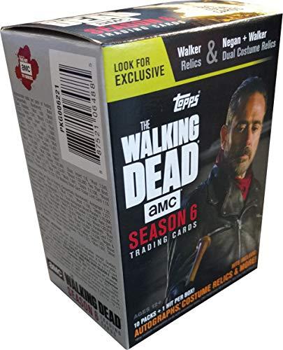 Topps Cards Walking Dead Season 6 Value Box