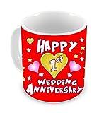 TiedRibbons® 1st wedding Anniversary Gift Coffee Mug(325ml,White)