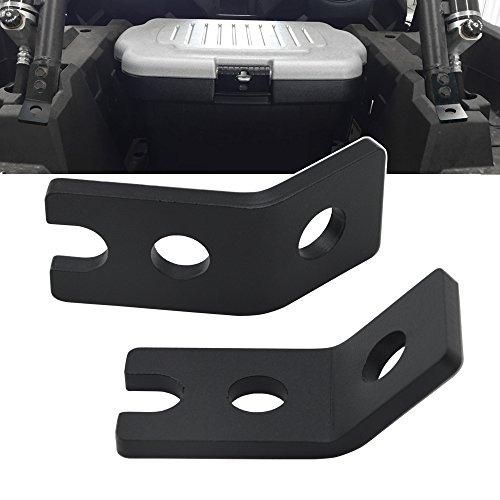 DaSen For (Pack of 2) Backup Reverse LED Whip or Light pod Mount Bracket Fit Polaris RZR XP 1000/Turbo 900 (2015+)