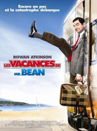 ArtFuzz Mr. Bean's Holiday 11 x 17 Movie Poster - French Style A