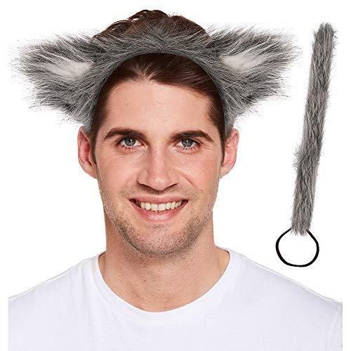 Henbrandt Big Bad Wolf Wolf Costume Accessories (2 Pc) ()