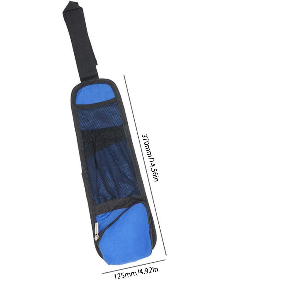 l/ï Vestmon Asiento de Coche Silla Lateral Bolsa de Almacenamiento Multifuncional Impermeable veh/ículo Interior Organizador para Coche