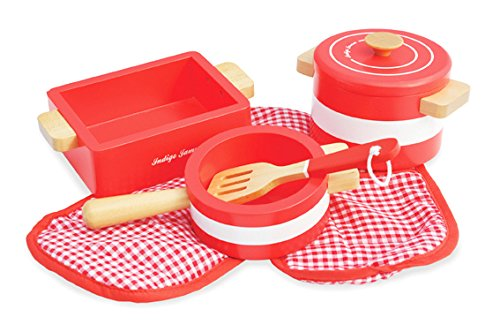 Pots 'n' Pans Red Playset ()