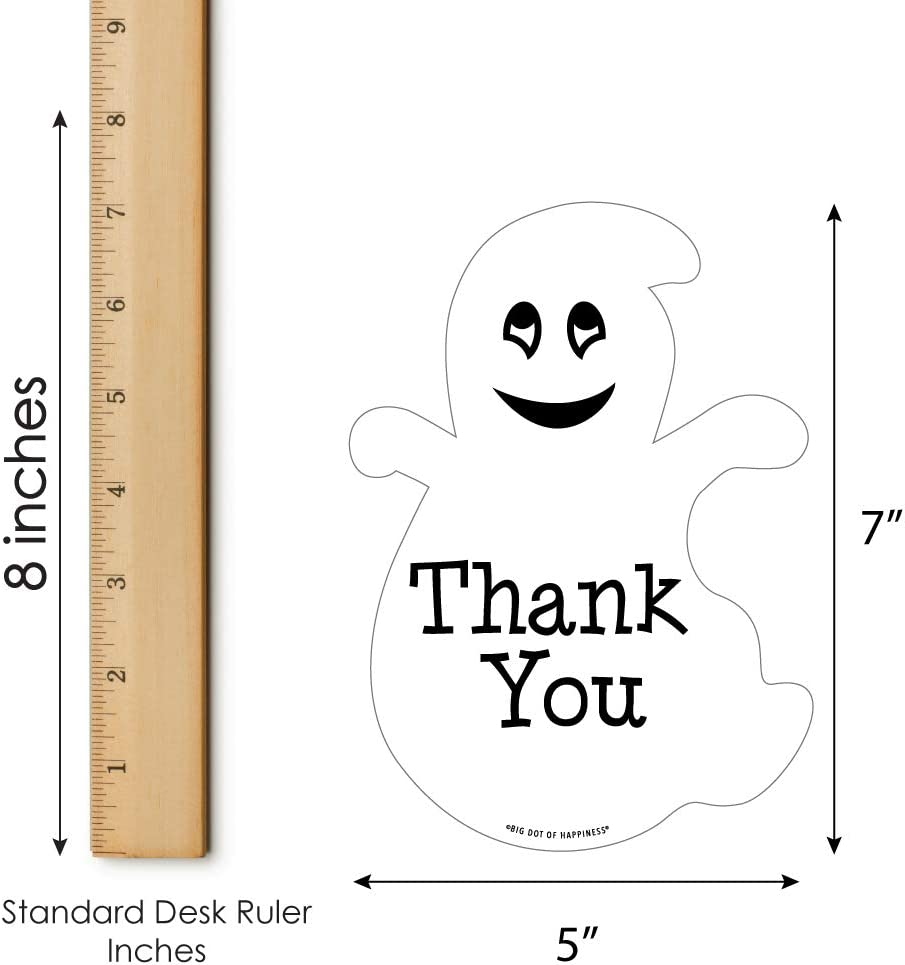 Scary Ghosts /& Graves Personalized Halloween Party Thank You Cards