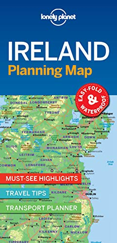 (Lonely Planet Ireland Planning Map)