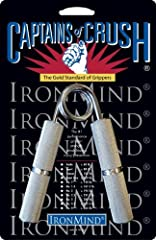 The gold standard for building and testing grip strength, Captains of Crush (CoC) Grippers are designed for maximum progress in minimum time. The world leader for over 20 years, CoC Grippers use premium materials and are made in the USA. 11 s...