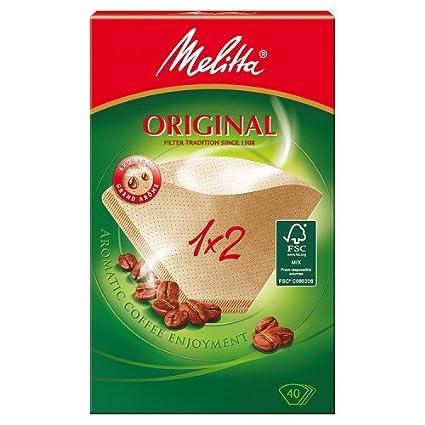 Melitta 502001 Filtros de Café Desechables Natural