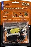 S.O.L Survive Outdoors Longer Pocket Survival Pak Plus