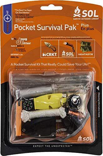 S.O.L Survive Outdoors Longer Pocket Survival Pak ()