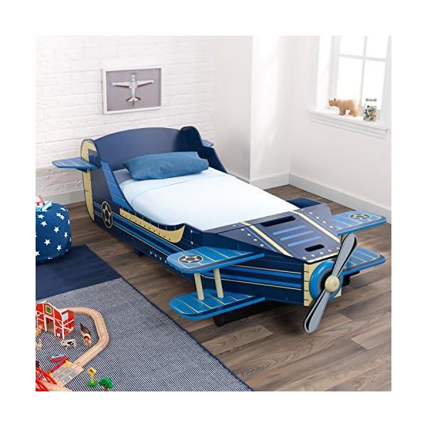 KidKraft Airplane Toddler Bed 4