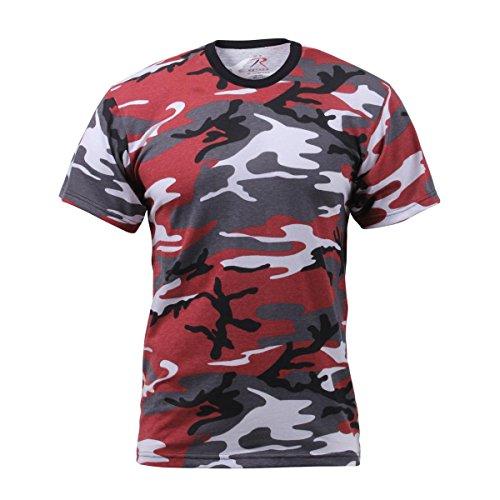 Rothco T-Shirt, Red Camo, 3X