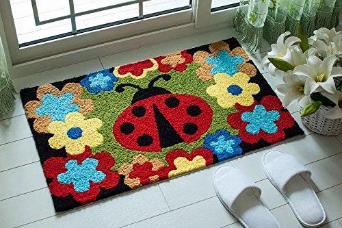 Ladybug Door Mat - Door mat Doormat Door mats Kitchen Toilet Absorbent Skid Mat Ladybug