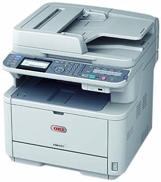 OKI MB491 - Impresora multifunción láser (B/N 40 PPM, A4 ...