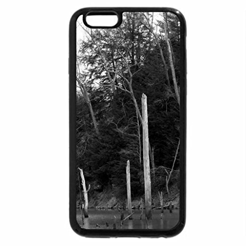 iPhone 6S Plus Case, iPhone 6 Plus Case (Black & White) - Spring Revenge