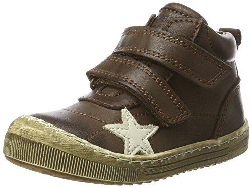 Bisgaard Unisex-Kinder Klettschuhe Hohe Sneaker Braun (300 Brown)