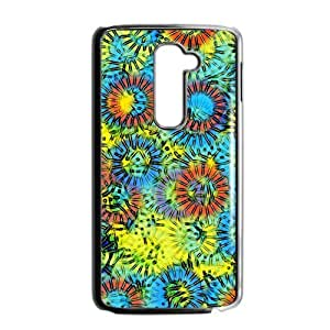 Abstract flowers painting Phone Case for LG G2